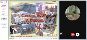 curso de espanhol online a distância com professor ao vivo